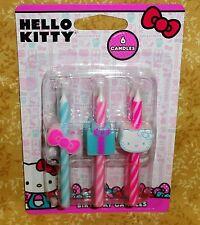 Hello Kitty,Sanrio Icon Birthday Candles, DecoPac,Multi-color,Cake Decoration