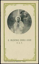santino-holy card S.VALENTINO DE BERRIO OCHOA M.