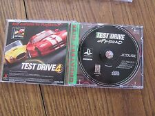 Playstation TEST DRIVE Off-Road COMPLETE TESTED
