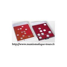BOX MONNAIE 35 CASES pour 2 euro sous Capsules 304779