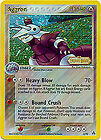 Aggron Holo Reverse Pokemon Card EX-Legend Maker 2/92