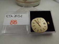 88 - Movimento lorenz eta 2651  con dial  working sold for parts or repair