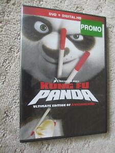 Kung Fu Panda Ultimate Edition of Awesomeness DVD Brand New Sealed Promo *