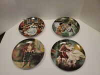 The King and I Collector's Plates Series Set of 4 William Chambers Knowles 1985