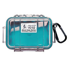 Pelican 1010 Micro Case (Aqua with Clear Top)
