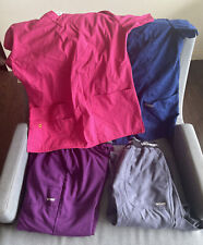 New listing Lot Of Women Scrubs Pants Tops Size Small Grey's Anatomy & Wink