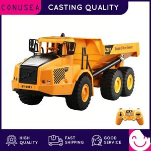 1:16 RC Truck Dumper Caterpillar Tractor Model Engineering Car Excavator Toys