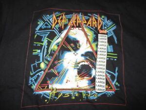 "Retro DEF LEPPARD ""HYSTERIA"" Tour Concert (LG) T-Shirt w/ Tags"