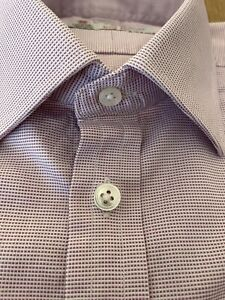 """Turnbull Asser Shirt 15"""" Used In Perfect Condition. Stunning Light Purple."""