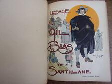 GIL BLAS DE SANTILLANE  LE SAGE  Illustrations de Henry Morin vol in4
