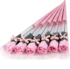 Love Bath And Body Soap Rose Pedals-5 Stems-Pink