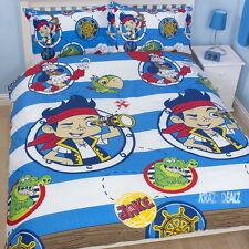Jake Neverland Pirates doublons double rotary housse de couette bed set nouveau cadeau
