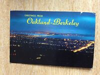 U1-3 postcard used 1966 oakland berkeley