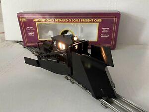MTH ELECTRIC TRAIN-PENNSYLVANIA PRR JORDAN SNOW SPREADER 3RAIL-O-SCALE 20-98206