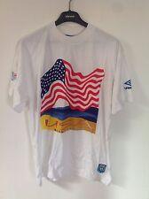 UMBRO BEACH SOCCER T-shirt Grande Nuovo di Zecca