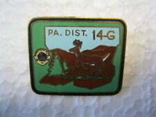 Lions Club Pin 14G DEER Vintage Collectible pin PA