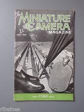 R&L Vintage Mag, The Miniature Camera March 1949, Homemade Rangefinder