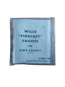 Wills finecast Chassis