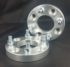 2 Wheel Spacers Adapters 4X114.3 ( 4X4.5 )   12X1.5   15MM For Toyota Mazda Ford