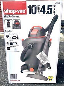 Shop-Vac 10 Gallon Wet Dry Vacuum 9.9 Amps  4.5 HP Model  SL14-450 New