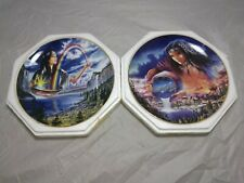 Royal Doulton Collectable Plates ~The Waters of Life & Rainbow Maiden~ Job Lot