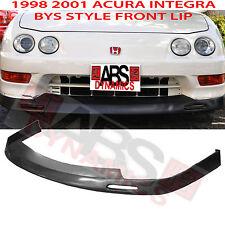 1998 01 Acura Integra BYS Style Front Bumper Lip Unpainted PolyUrethane Plastic