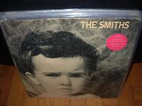 SMITHS self titled ( rock ) rough trade uk - sticker -