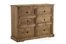 Pine Traditional 6 Chests of Drawers