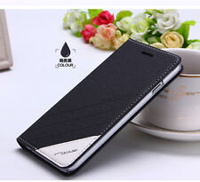 Original FLOVEME PU Leather Case For Iphone 6 With Magnetic Flip & Stand Black