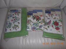 BOTANIC GARDEN CHINTZ BY PIMPERNEL SET OF AN APRON+TEA TOWEL+4 NAPKINS-NEW+GIFTS