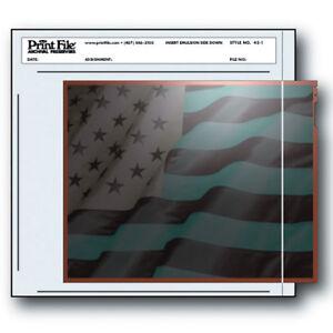 "100 Pcs PRINT FILE 4"" x 5"" Negative Pocket Pages Sleeves Film Archival 45-1 i"