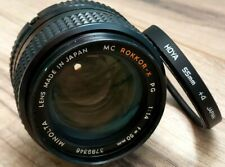 Minolta Mc Rokkor-X Pg 50mm f1.4 for mirrorless cameras Japan Great