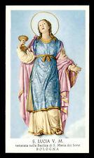 santino-holy card*S. LUCIA V.M.-BOLOGNA