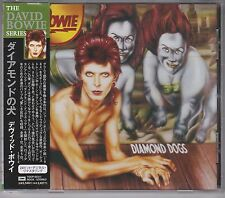 """CD DAVID BOWIE Diamond dogs JAPAN 1999 issue """"The David Bowie Series"""" OBI"""