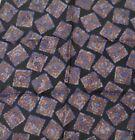"New SANTOSTEFANO Black Blue Brown 12"" Silk Pocket Square Handkerchief NWT 150"