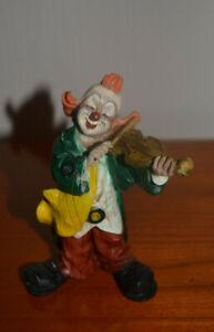 Clown   mit Geige   Vivian