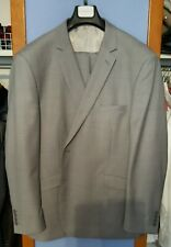 Light Grey Mens suit 50 regular Alan Dupetit pants 38w x 30L