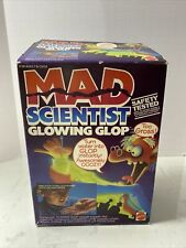 Vintage 80s Toy Mad Scientist Glowing Glop by Mattel Complete w/ Box very rare