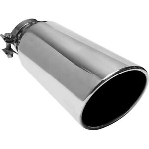 """Magnaflow 6"""" Angle Cut Exhaust Tip 5"""" In X 6"""" Out X 13"""" Long 35215"""