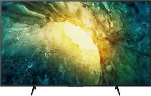 Sony KD-65X7055, 4K-Fernseher, 65 Zoll, Triple Tuner, WLAN, Smart TV, PVR ready