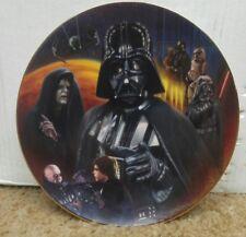 Vintage Star Wars Darth Vader Hamilton Plate Collection
