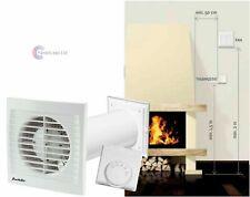 Verteilen Warme Luft eine Raum zu einer Hitze Extraktor Zimmer Lüfter Kamin Ofen