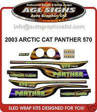 2003 ARCTIC CAT 570 PANTHER DECAL KIT  TOURING CLASSIC , reproductions