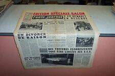 L AUTO JOURNAL N° 112 15 10 1954 EDITION SPECIAL SALON 2 CV Renault