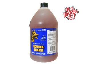 PETE RICKARD - NEW 1 GAL KENNEL GUARD CARPET & KENNEL PET CLEANER - MADE IN USA
