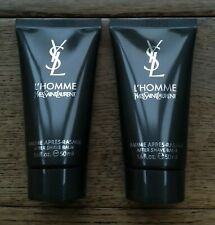 2 x Yves Saint Laurent YSL L'Homme After Shave Balm (2 x 50ml) Travel Size
