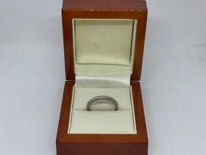 0.25ct Diamond Palladium Ring