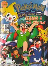 DVD Pokemon Season.4 Johto League Champions (TV 1 - 52 End) DVD + Bonus Anime