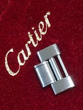 AUTHENTIC CARTIER WATCH LINK MUST DE 21 CHRONOSCAPH Chronograph SS 20mm MENS