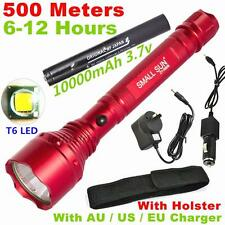 500 Meter 2000 Lumen RECHARGEABL TACTICAL CREE XML T6 LED 18650 FLASHLIGHT TORCH